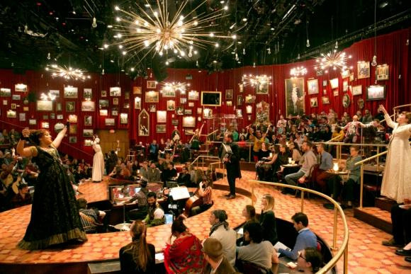 The Great Comet at Imperial Theatre