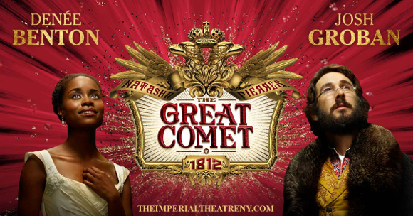 the great comet musical imperial theatre