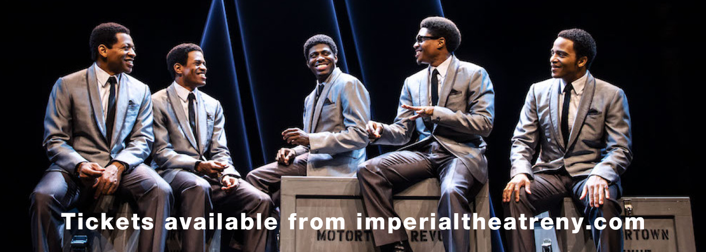 Aint Too Proud imperial theatre